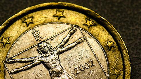 Italienische Euromünze. Hält die Währung? Quelle: dpa