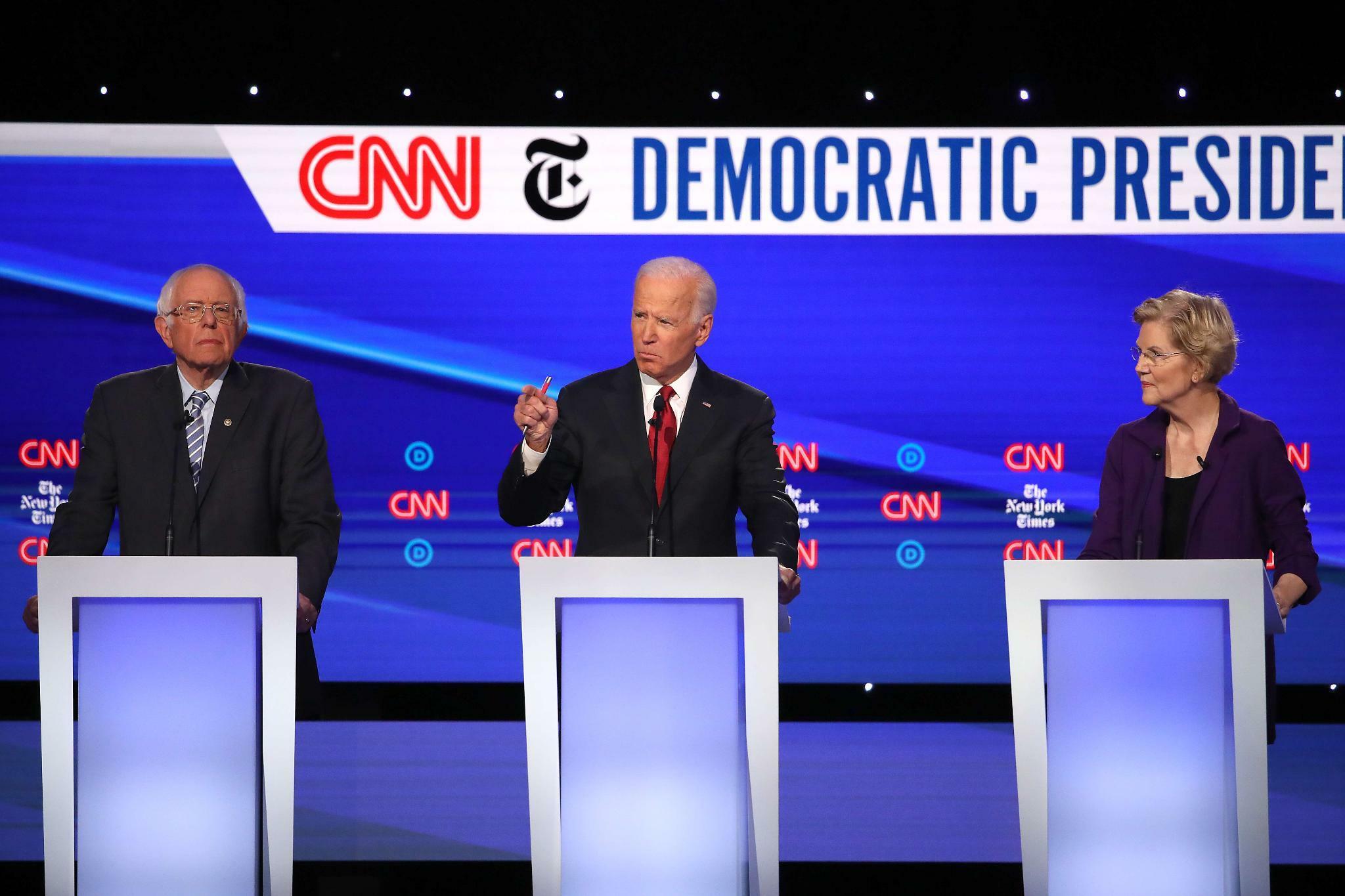 TV-Debatte der US-Demokraten: Joe Biden muss sich in Ukraine-Affäre erklären