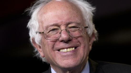 Bernie Sanders, parteiloser Senator aus dem US-Bundesstaat Vermont, ...