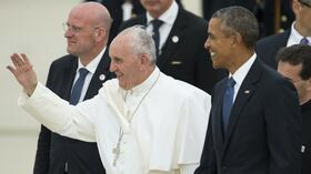 "Papst Franziskus in den USA: ""We love you, pope Francis!"""