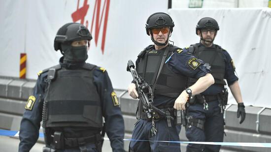 Anschlag von StockholmFestnahme einer zweiten Person