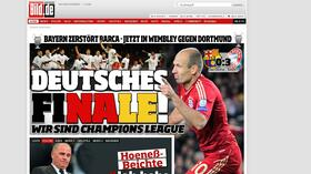 "Presseschau zur Champions League: ""0:7 – Zerquetscht."""