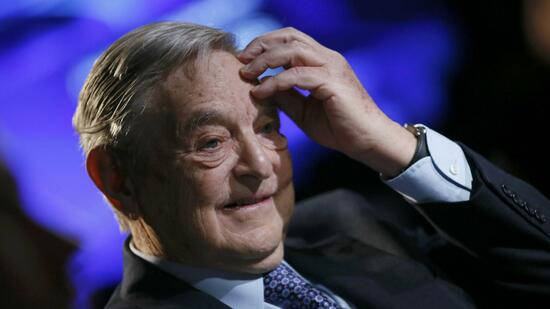 huGO-BildID: 29599397 Billionaire investor George Soros of Soros Fund Management attends the annual meeting of the World Economic Forum (WEF) in Davos January 26, 2013. REUTERS/Pascal Lauener (SWITZERLAND - Tags: POLITICS BUSINESS HEADSHOT) Quelle: Reuters