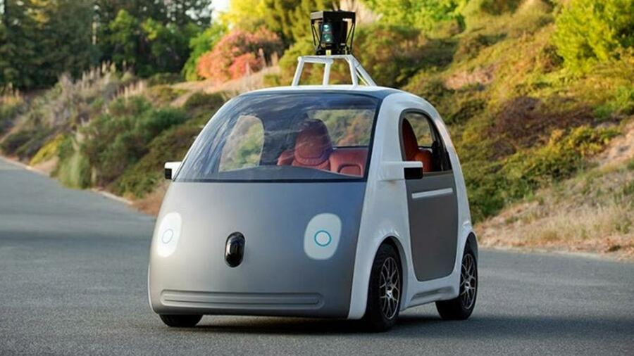 IAA 2015: Google-Auto kommt ohne Lenkrad und Pedale