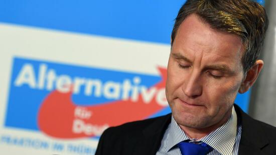Ermittlungen gegen Höcke wegen Dresden-Rede eingestellt
