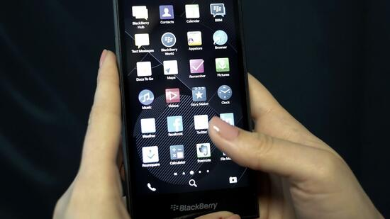 Blackberry-Smartphone