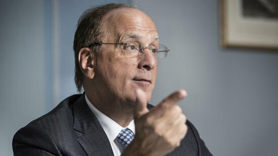 Blackrock-Boss Larry Fink