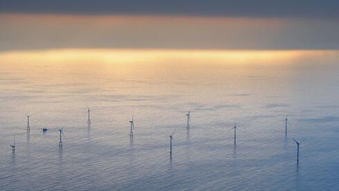 Ein Offshore-Windpark in der Nordsee. Quelle: dpa