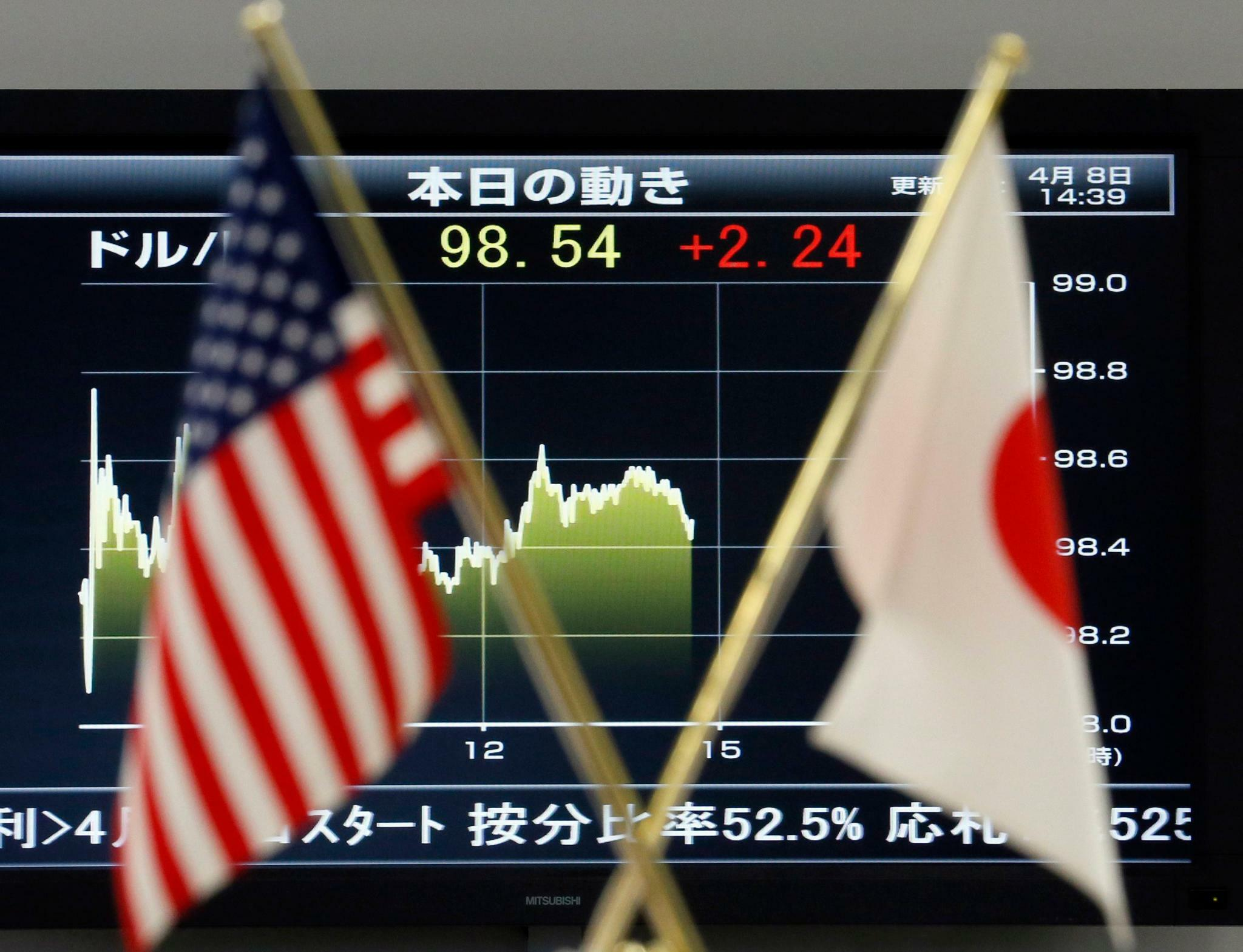 Japans Börse folgt Wall Street ins Plus