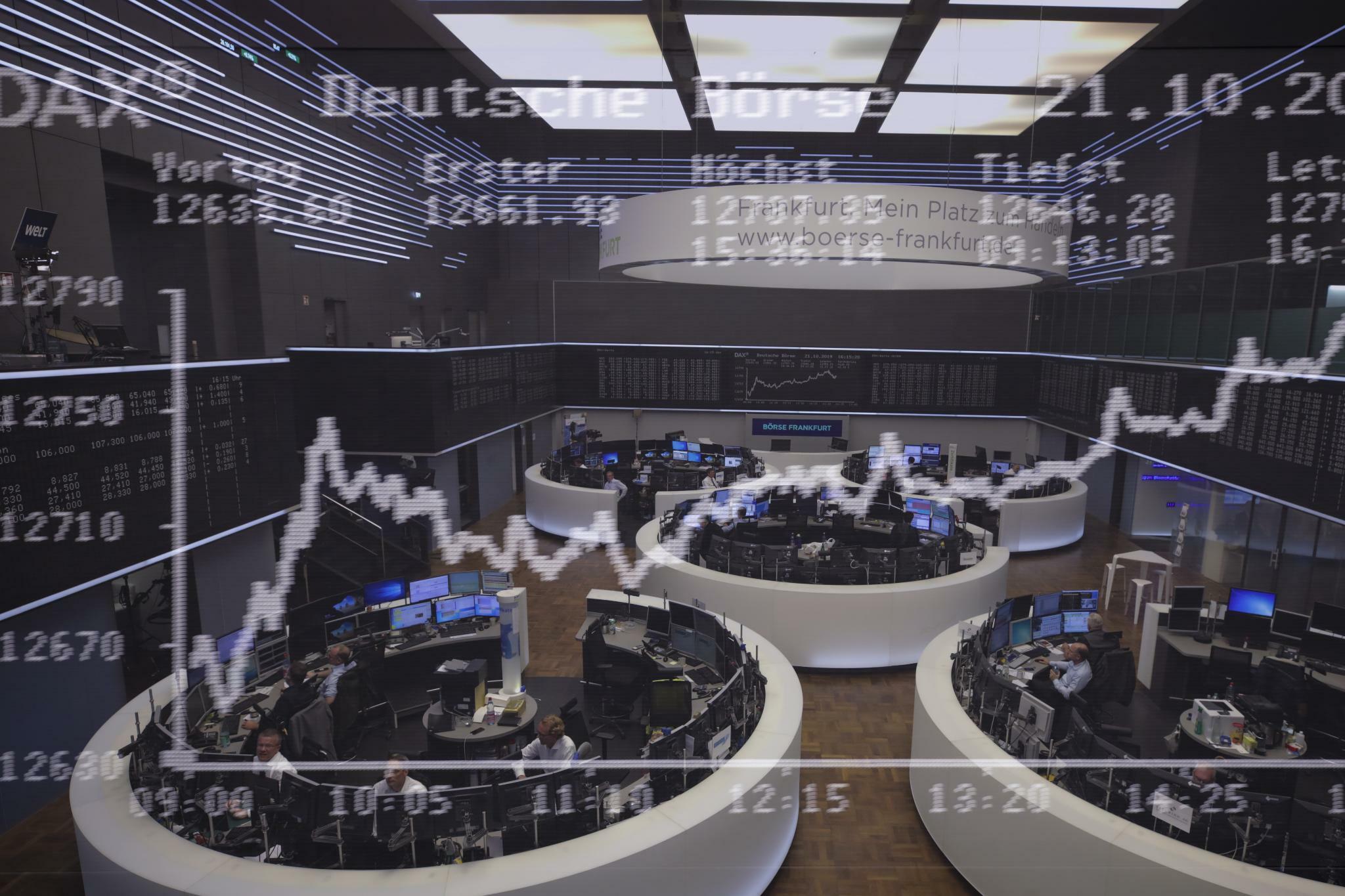 Dax startet im Plus – Deutsche Wirtschaft entgeht Rezession