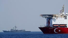 """Der türkische Staatschef will das Schiff in die umstrittenen Gewässer entsenden. Das Forschungsschiff """"Oruc Reis"""" hat diese bereits gekreuzt. Quelle: Reuters"""
