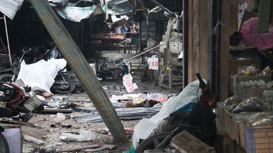 Mindestens drei Tote bei Anschlag in Thailand