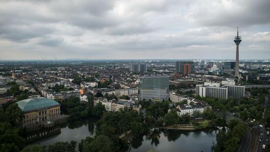 Bombenentschärfung in Düsseldorf läuft an