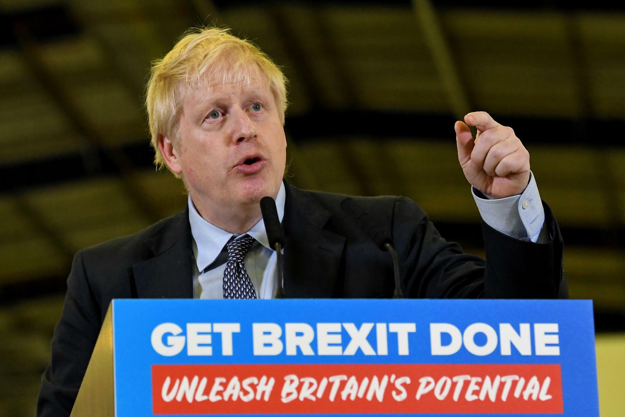 Johnsons Konservative in Umfrage weit vor Labour