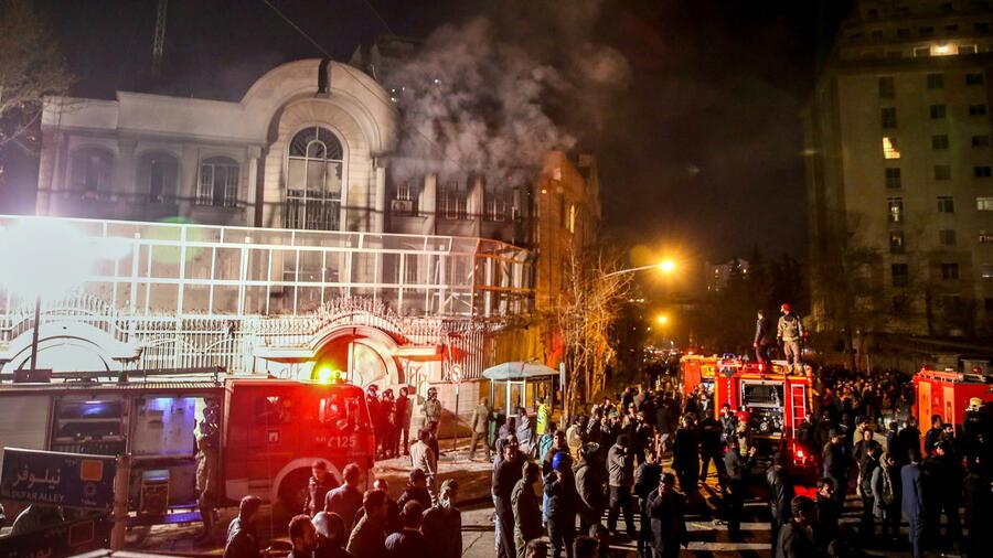 """Iran droht mit der """"Rache Gottes"""""""