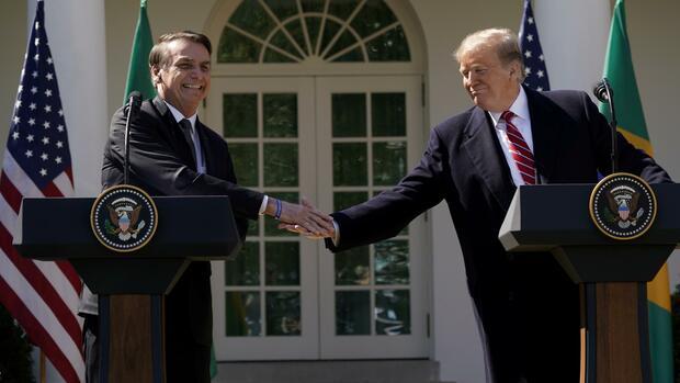 Notiz an den Kongress: Trump will Brasilien zum wichtigen Nicht-Nato-Verbündeten machen