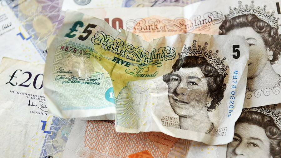 Pfund Brexitantrag Schickt Britische Währung Auf Achterbahnfahrt