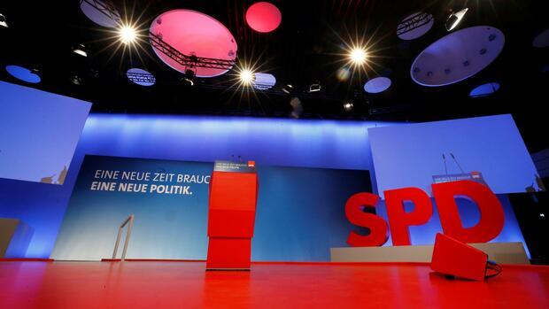 ++ LIVEBLOG SPD-Parteitag ++: Entwurf des Leitantrags steht
