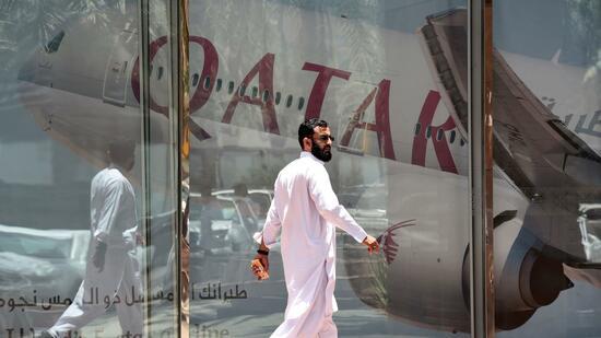 Und plötzlich fliegt Qatar Airways nur noch durch den Korridor