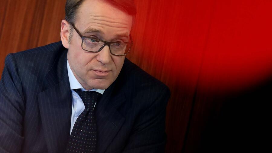 Il presidente della Bundesbank Jens Weidmann chiede forza nei confronti di Facebook Fonte: imago / Hannelore Förster