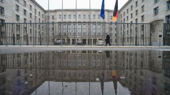 Bundesfinanzministerium in Berlin