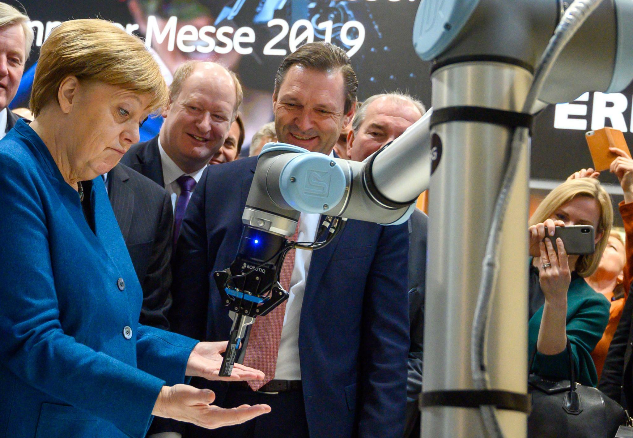 Hannover-Messe: Angela Merkel will wissen, was gutes 5G ausmacht