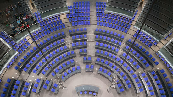 Erste Sitzung nach der Wahl am 24. Oktober