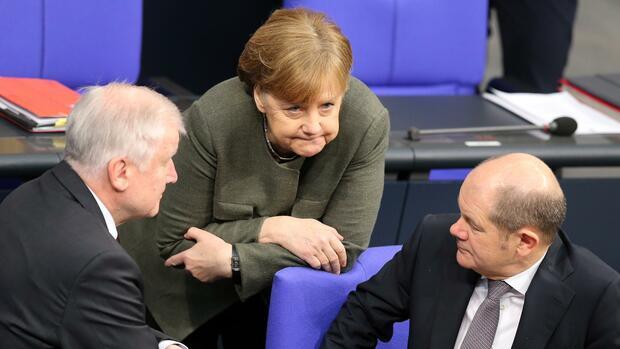 Emnid-Umfrage: Große Koalition rutscht in der Wählergunst weiter ab