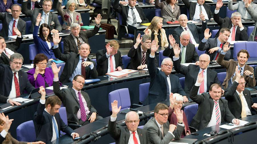 Wieviel Abgeordnete Hat Der Bundestag
