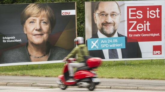 Bundestagswahl 2017: CDU vorn, SPD kündigt Opposition an, AfD drittstärkste Fraktion
