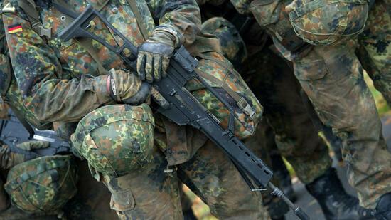 Die deutsche Truppe steht momentan unter Beobachtung. Quelle dpa
