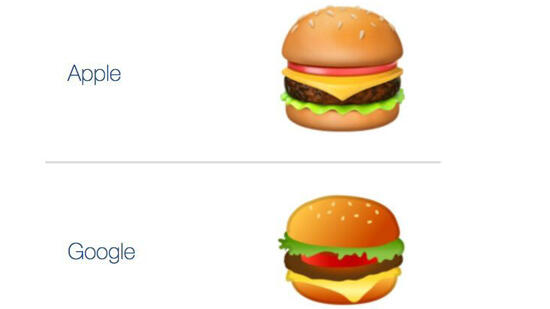 Emoji-Gate: Google-Chef will Burger ändern lassen