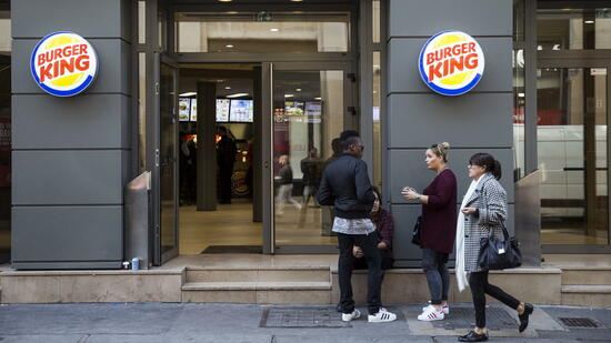 Burger-King-Filiale in Paris