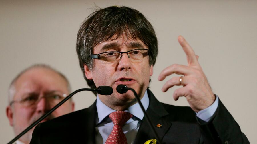Puigdemont - Könnte Katalonien von Brüssel aus regieren