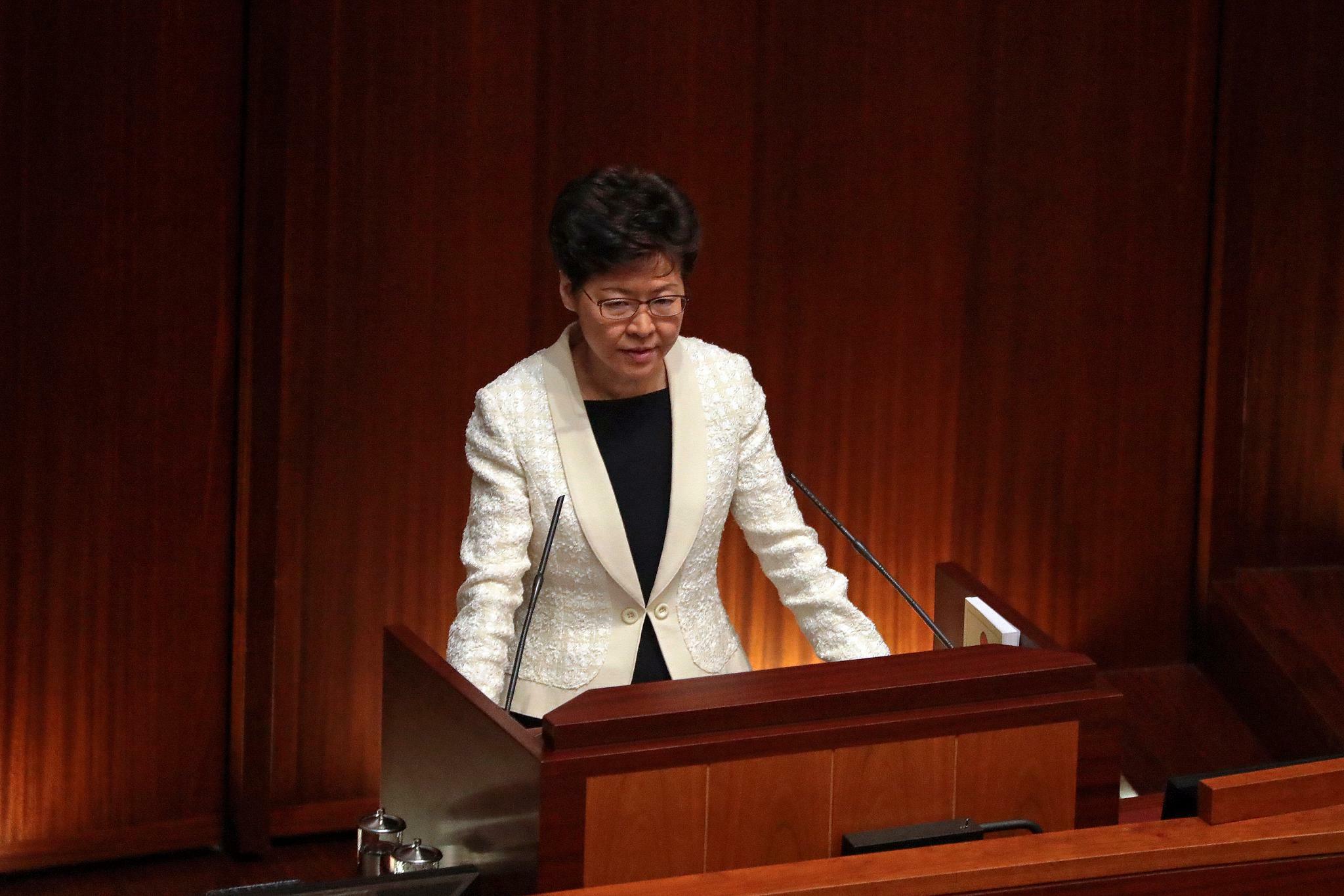 China will offenbar Hongkongs Regierungschefin Lam austauschen