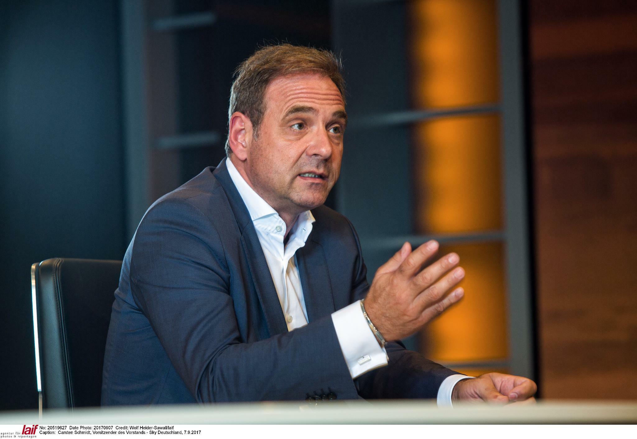 Sky-Deutschland-Chef Carsten Schmidt geht zum Jahresende