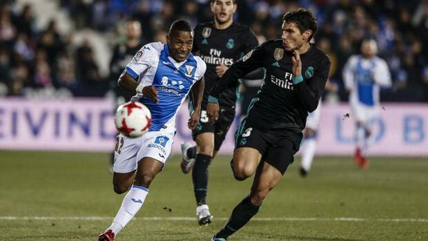 Fußball: Spanischer Pokal:Real Madrid siegt ohne Stars inLeganés