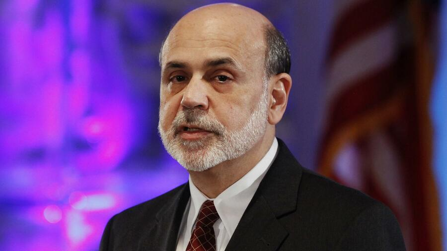 Fed-Chef Ben Bernanke. Quelle: Reuters