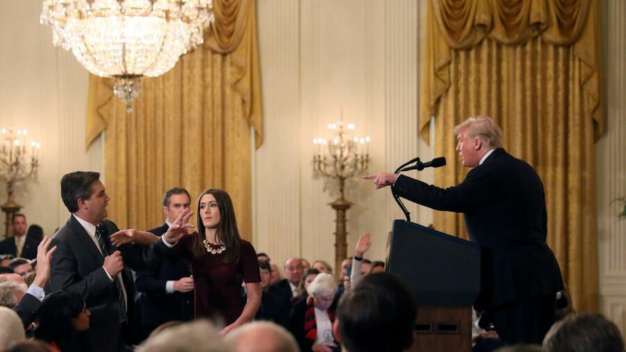 Nach Ausschluss von Reporter: CNN verklagt Trump-Administration