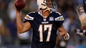 Chargers Quarterback Philip Rivers. Foto: Bongarts/Getty Images Quelle: SID