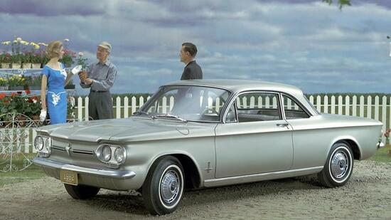 "Chevrolet Corvair: Angeblich ""unsafe at any speed""."