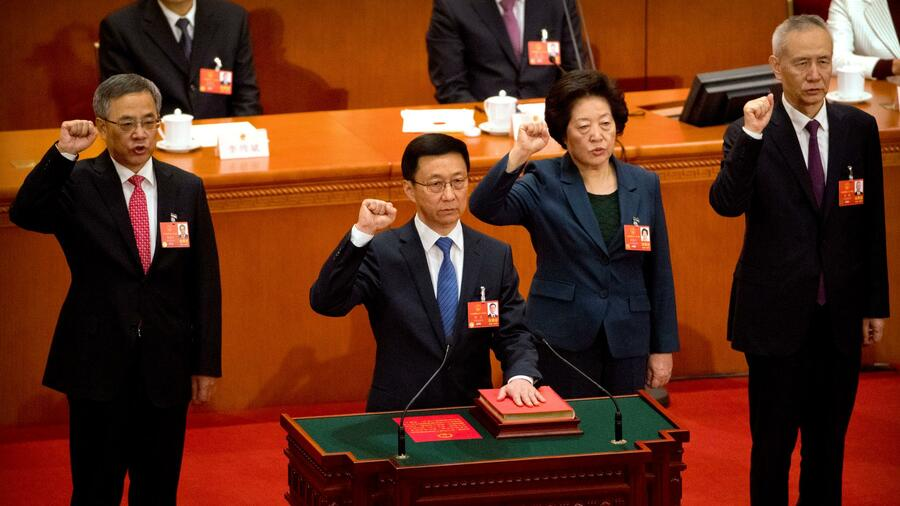 Chinas Präsident Xi bereit für