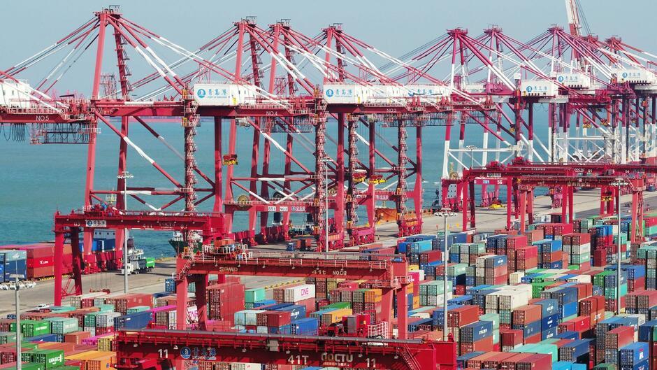 Chinas Exporte im September gesunken