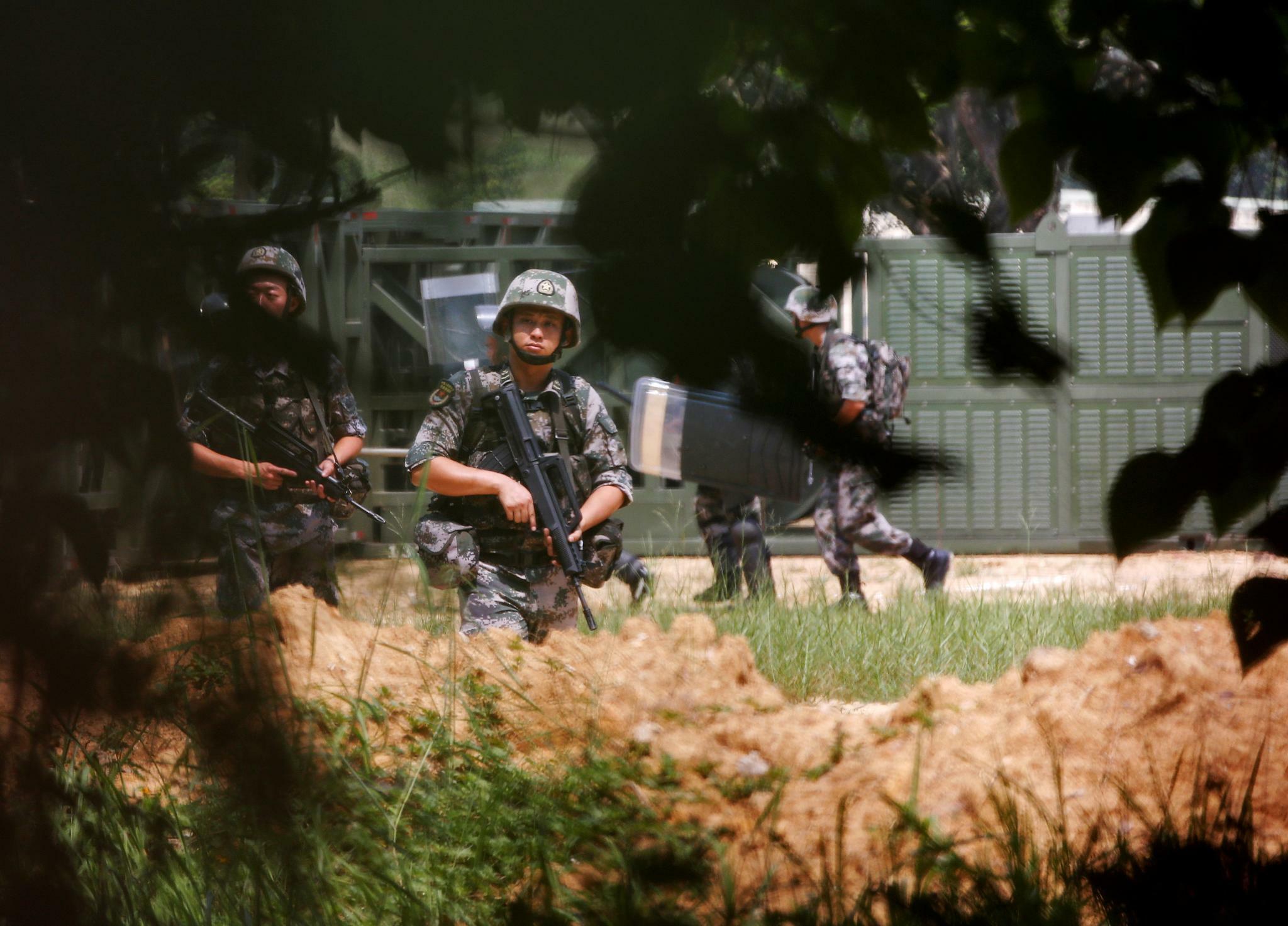 China hat offenbar heimlich Truppenstärke in Hongkong erhöht
