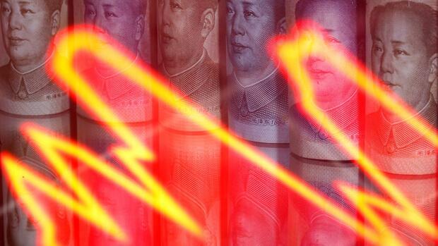 Devise: Yuan rutscht nach Zinssenkung auf Zwei-Monats-Tief ab