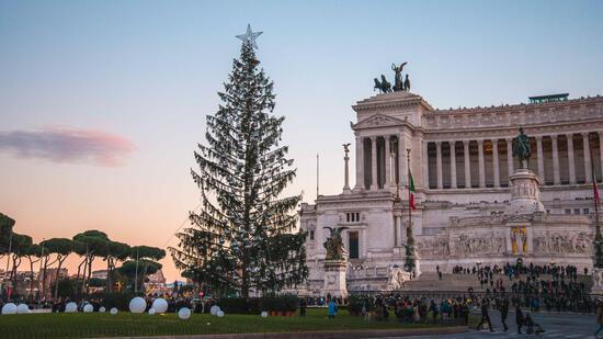 Weihnachtsbaum Rom 2019