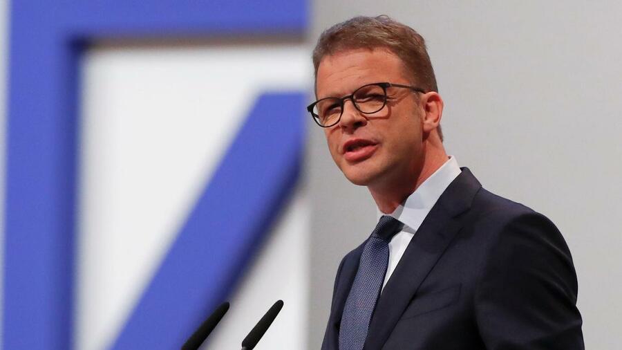 Il CEO di Deutsche Bank vuole porre fine alla crisi permanente di Deutsche Bank con un riorientamento fondamentale.  Fonte: Reuters