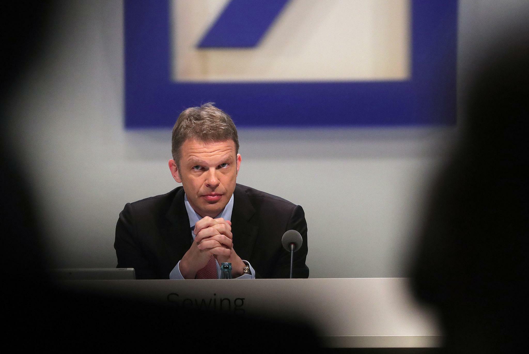 Bei der Deutschen Bank wächst nur das Geschäft mit Firmen