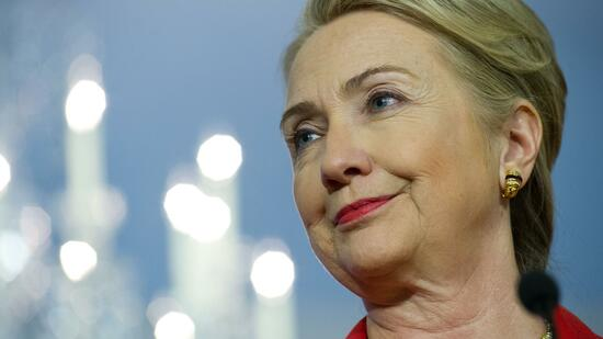 US-Außenministerin Hillary Clinton. Quelle: AFP