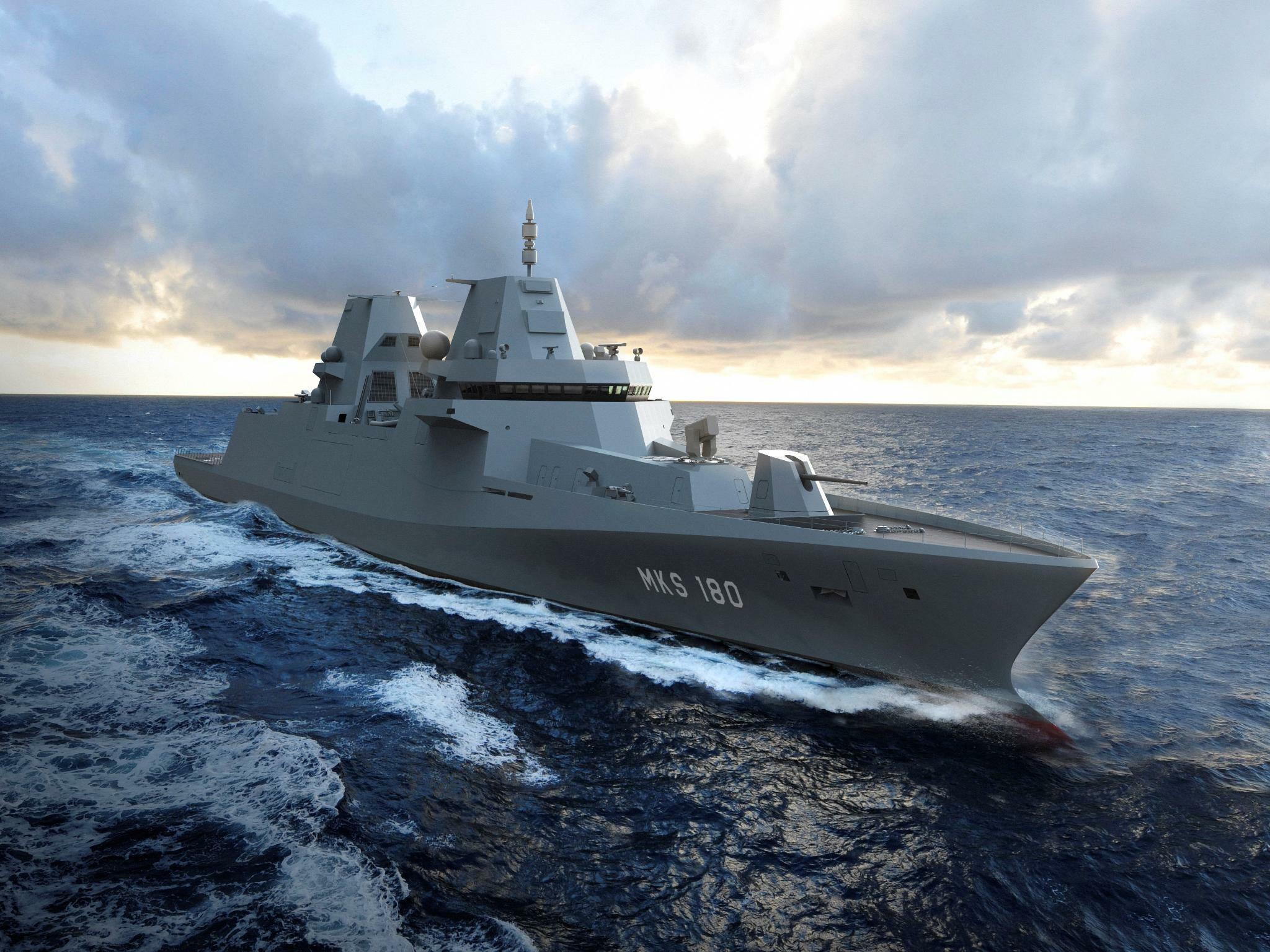 Streit um Fregatten: Kieler Werft geht juristisch gegen Bundesregierung vor